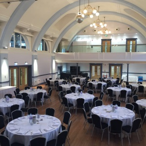 Inside Hitchin Town Hall