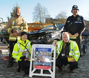 A Community Reassurance Event in Hitchin in December 2014