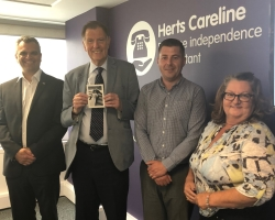 Careline receives thank you from Prince Harry
