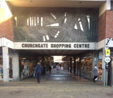 Churchgate Shopping Centre in Hitchin