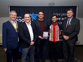 Football for Fathers wins an award at the Herts Sports Awards