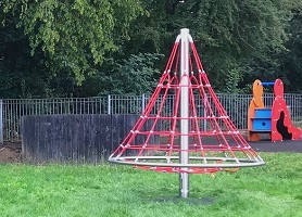 New play equipment at Great Ashby District Park