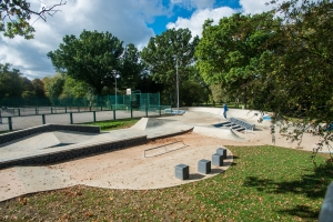 BMX lessons at Norton Common Skate Park