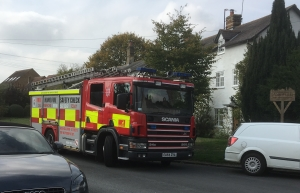 Hertfordshire Fire and Rescue attended the Ashwell rural drop in session