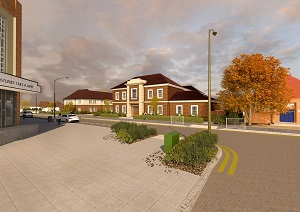 Artistic Impression: Town Lodge Development