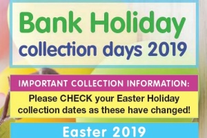 Bank Holiday bin collection days 2019