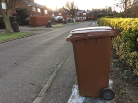 Bin collection dates are changing over Easter